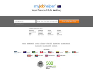 au.myjobhelper.com screenshot
