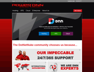 au.powerdnn.com screenshot