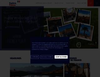 au.rendezvousenfrance.com screenshot