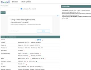 au.stoxline.com screenshot