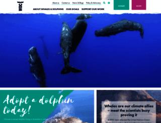 au.whales.org screenshot