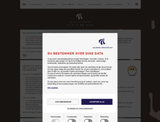 aub.aau.dk screenshot