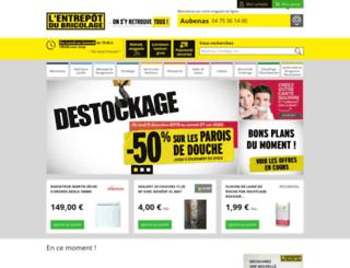 aubenas.e-bricodrive.fr screenshot