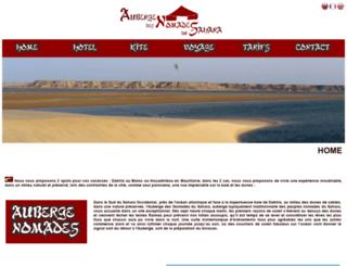 auberge-des-nomades-du-sahara.com screenshot