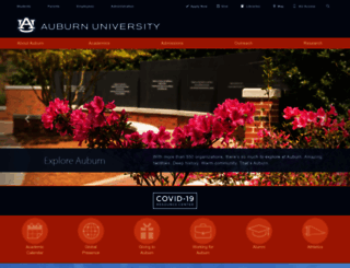 auburn.edu screenshot