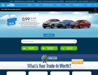 auburnhonda.com screenshot