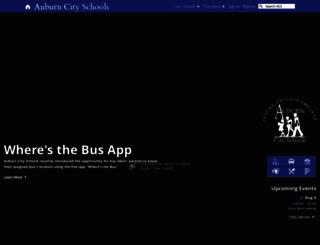 auburnschools.org screenshot