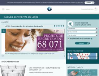aucentredelemploi.fr screenshot