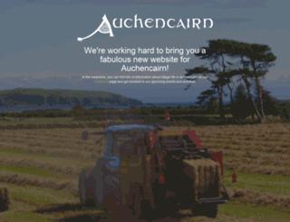 auchencairn.org.uk screenshot
