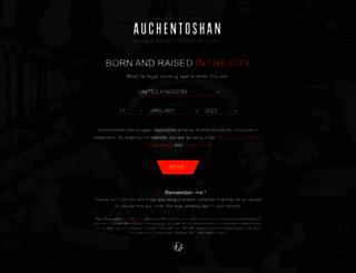 auchentoshan.com screenshot