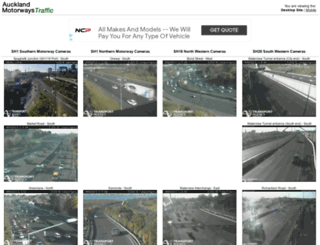 aucklandmotorways.co.nz screenshot
