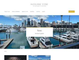 aucklandscene.co.nz screenshot