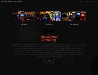 aucklandvending.co.nz screenshot