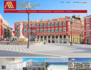 aucler-immo.com screenshot