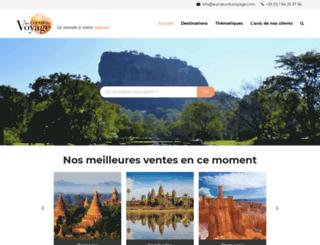 aucoeurduvoyage.com screenshot