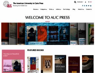 aucpress.com screenshot