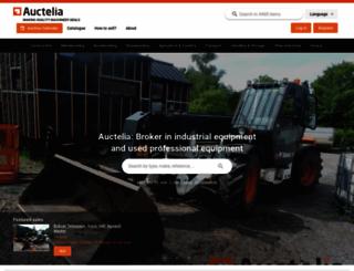 auctelia.com screenshot
