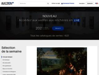 auction.fr screenshot