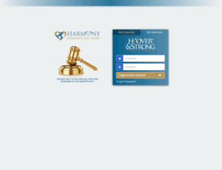 auction.hooverandstrong.com screenshot