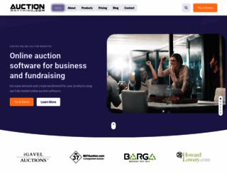 auctionanything.com screenshot