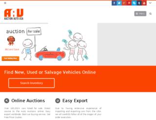 auctionautousa.com screenshot