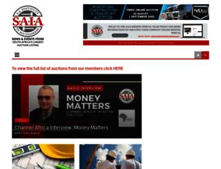 auctionblog.co.za screenshot