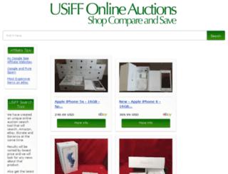auctionboard.usiff.com screenshot