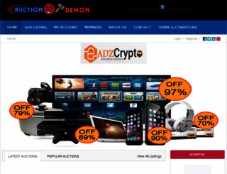 auctiondemon.com screenshot