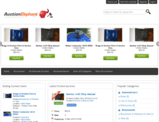 auctionelephant.com screenshot