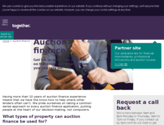 auctionfinance.co.uk screenshot