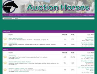 auctionhorseswa.proboards.com screenshot