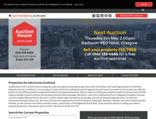 auctionhousescotland.com screenshot