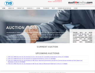 auctionindia.com screenshot