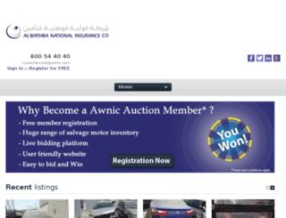 auctioning.ae screenshot