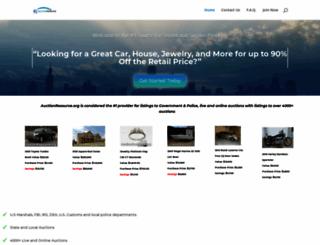auctionresource.org screenshot