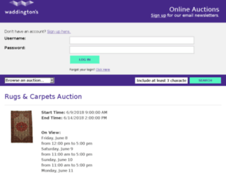 auctions.waddingtons.ca screenshot