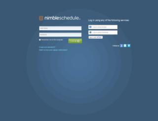 auctionstaff.nimbleschedule.com screenshot