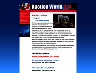 auctionworldusa.com screenshot