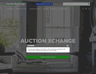auctionxchange.ie screenshot