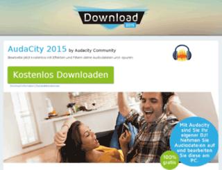 audacity.download-2015.de screenshot
