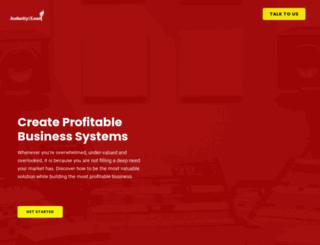 audacity2lead.com screenshot