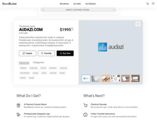 audazi.com screenshot