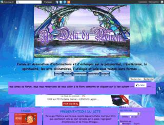 audeladumiroir.forumactif.org screenshot