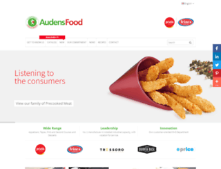 audensfood.com screenshot