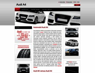 audi-a47.webnode.cz screenshot