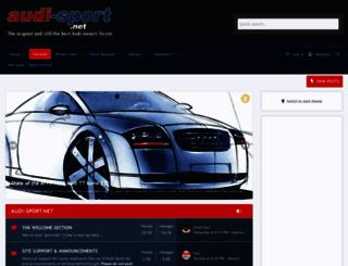 audi-sport.net screenshot