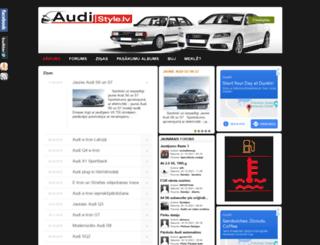 audi-style.lv screenshot