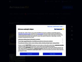 audi-tt-roadster.autobazar.eu screenshot