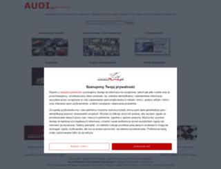 audi.auto.com.pl screenshot