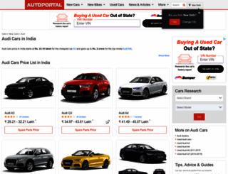 audi.autoportal.com screenshot